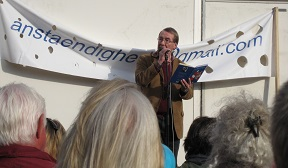 Benny Andersen taler